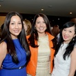 28 Nancy Almodovar, from left, Anika Jackson and Conny Kwan-Wong at the Best Dressed luncheon March 2015