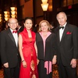 Heart Ball, Feb. 2016, David Leebron, Y. Ping Sun, Molly Crownover, Jim Crownover