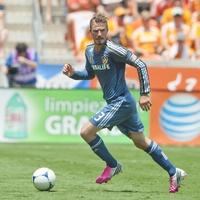 David Beckham wide shot