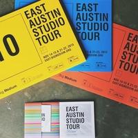 East Austin Studio Tour Big Medium signs catalog 2015
