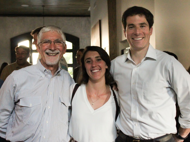 Houston Parks Board event, 7/16, John Long, Caitlin McNeely, Carter Stern