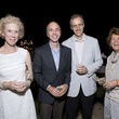 Laura Fain, from left, Mark Hitt, Wil McCorquodale and Gayle DeGeurin at the Rothko Chapel Moonrise Party October 2014