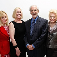 29 Judi McGee, from left, Elsie Eckert, Scott Basinger and Sidney Faust at the Celebration of Champions luncheon October 2013