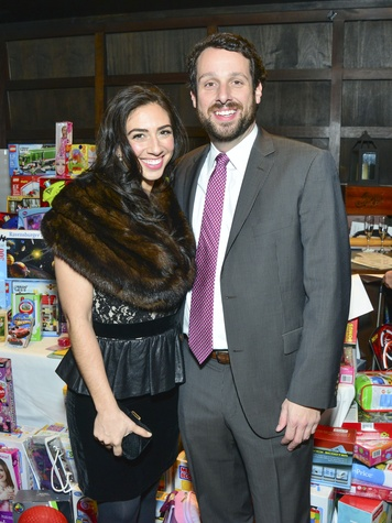 18 Jennifer Frank and Michael Harvey at Joyful Toyful December 2013