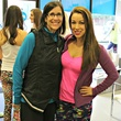 Jeanette and Jenny Anchondo, flywheel party