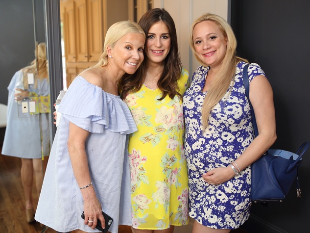 Miya Shay baby shower, 6/16 Natalie Wall, Laura Rose, Erica Rose.
