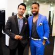 Imran Sheikh, Daven Tezeno at 2014 CultureMap Stylemaker Awards