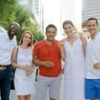 2nd Street District White Linen Night 2016 Richard Rashad Romeo III Corey Romeo Liz Eicks Ruchte Benjamin Q Ruchte