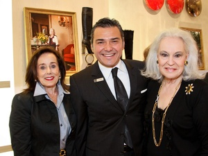 Saks WOD Reunion Brunch, November 2012, Betty Tutor, Albert Rubio, Donna Bruni
