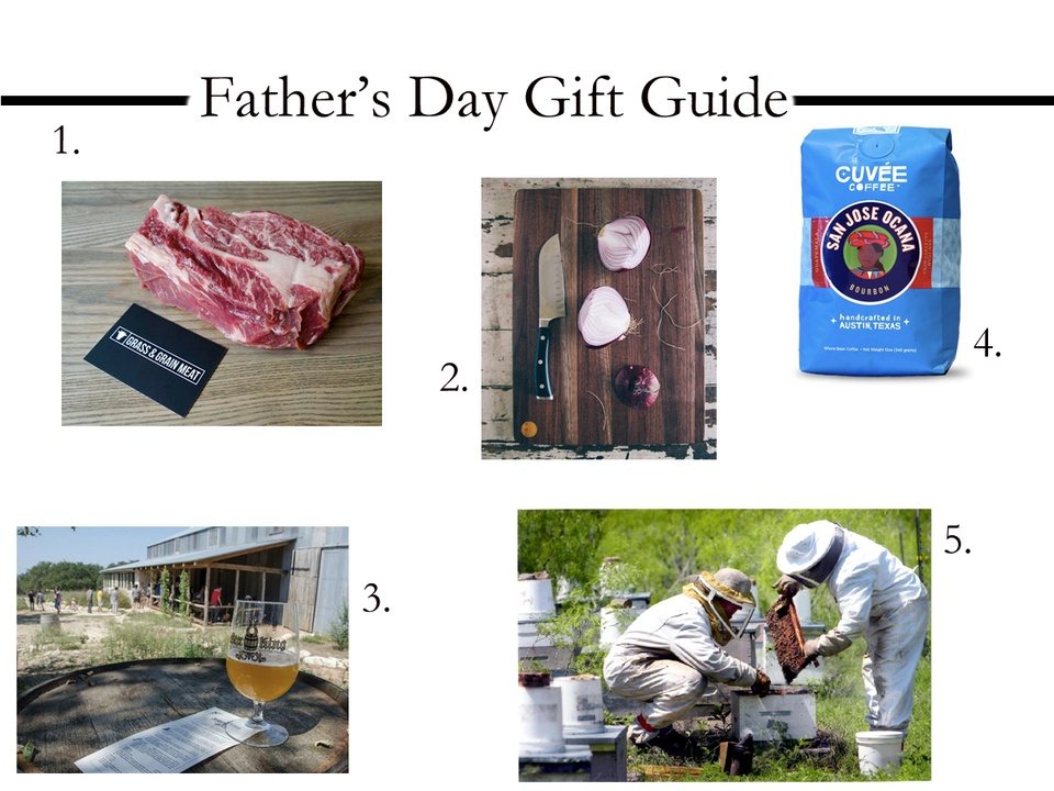 Austin Father's Day Gift Guide Foodie