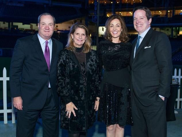 Astros Diamond Gala, Jan. 2016, Jeff Hines, Wendy Hines