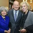 8 Peggy Barnett_Bill Barnett_Judy Allen_at the Baker Institute reception December 2013