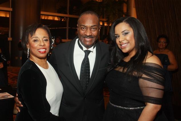85 Phyllis Williams, from left, Reginald Van Lee and Lauren Randle at the UNCF Gala November 2013