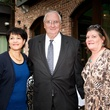 Bernadette Cashon, from left, George Ford and Trish King at the Blue Plate Special kick-off April 2014