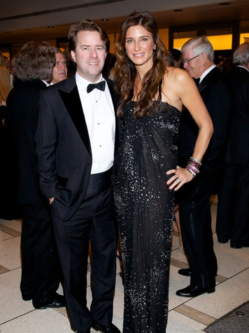 13 Michael and Melissa Mithoff at the New York Philharmonic Opening Night October 2013