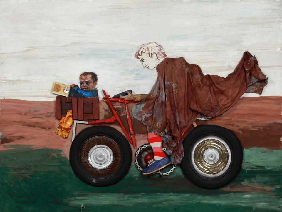 MFAH exhibit Antonio Berni Juanito and Ramona audio photo essay November 2013 Berni - Juanito con la moto