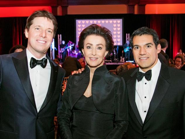 Fort Worth Symphony Gala, Joshua Bell, Mercedes Bass, Miguel Harth-Bedoya