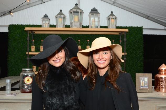 Sarah Jawda, left, and Saba Jawda at the Butler Brothers party November 2014