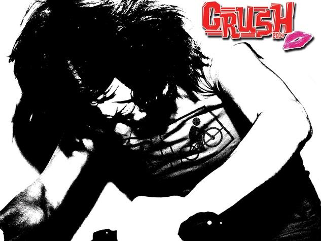 Crush calendar 2014 cover