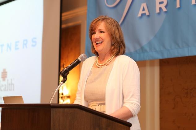 Houston, News, Shelby, Partners Luncheon, April 2015, Lorraine Frazier