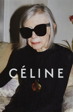 Celine ad featuring Joan Didion