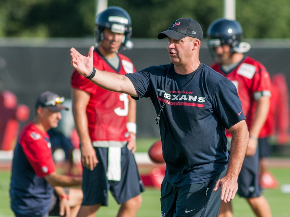 Bill O'Brien Texans teaching