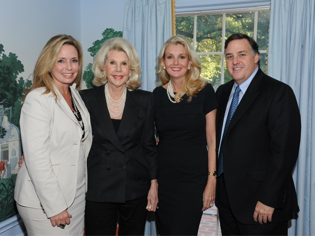 April Chamberlain, Sharon McCullough, Libby and David Hunt