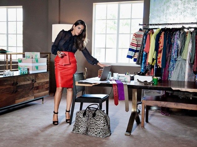 The Webster clothing store Miami March 2015 Laure Heriard Dubreuil standing at desk