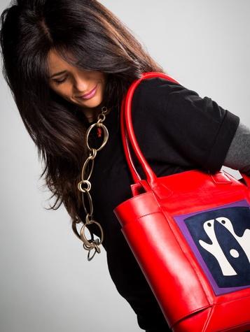 Ida de Rosis Italian handbag at exhibITALIA