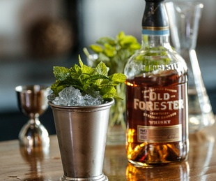 Mint Julep with Old Forester Kentucky Straight Bourbon