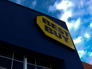 Best Buy, sign, store sign, November 2012