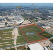 Astrodome aerial with last property for sale outlined