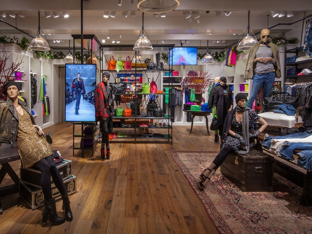 New Polo Ralph Lauren store in The Galleria, womens collection