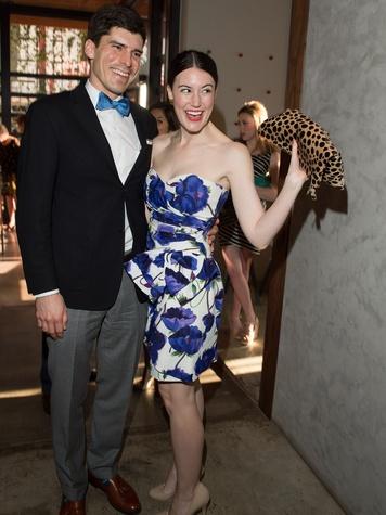 2860, Ballet Barre dinner, April 2013, NAMES