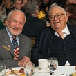 TEACH DINNER/Buzz Aldrin and Fayez Sarofim