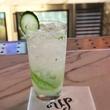 Up Restaurant signature cocktail