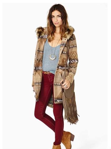 Nasty Girl Dakota Davina Coat