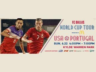 FC Dallas World Cup Tour: USA vs. Portugal