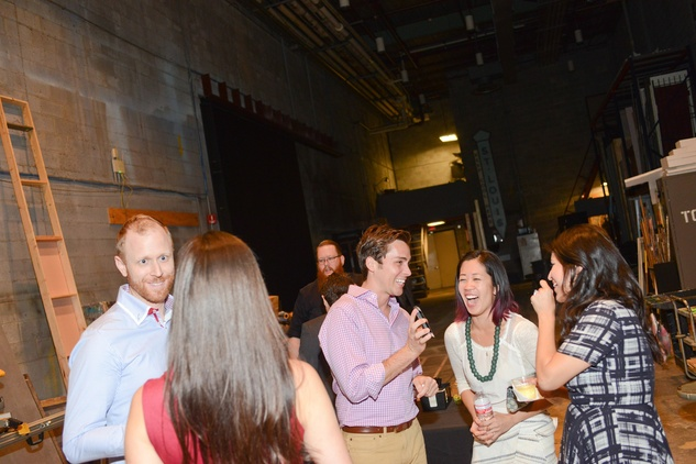 10 The crowd at the Alley Theatre Young Professional Event - Dracula October 2014.