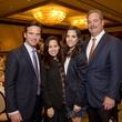 Bo's Place Luncheon, Feb. 2016, David Hartland, Claudine Hartland, Hannah McNair, Cal McNair