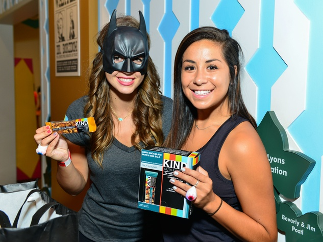 16 Maddy Daviss, left and Bianca Diaz at the Children's Museum Freak Out Friday June 2014