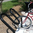 Mitch Cohen_sheeple_bike racks_Houston Heights_First Saturday Arts Market