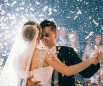 Houston news: first wedding dance, Sept 2017
