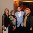 Lynn Baird, from left, Sara Morgan, David LaDuca and Phyllis Childress at the Houston Arts Alliance event with Rita Moreno May 2014