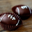 Football Cupcake Truffles from Ooh La La