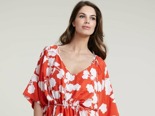 Diane Von Furstenberg Iniko Printed Coverup