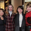 5 Yvette Webb, from left, Tina Davis, Lidiya Gold and Denise Hazen at The Children's Assessment Center Holiday Coffee December 2013