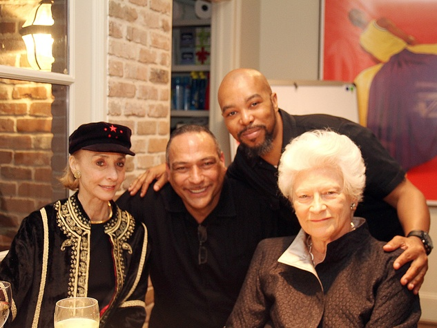 Mimi Kilgore, from left, Paul Guillory and Renal Ratchford and Janie Lee