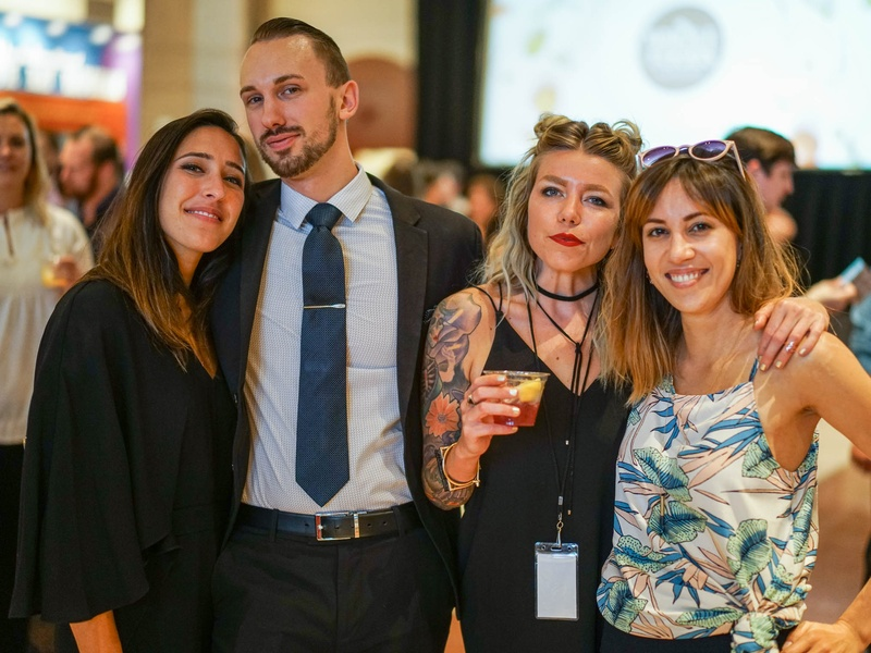 CultureMap Tastemaker Awards 2017 Gabby Cikota Justin Lavenue Stacy Hubrath Holli Young