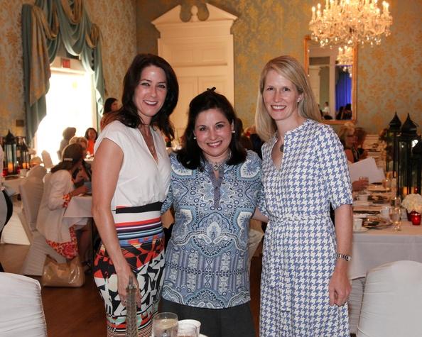 News, Shelby, Junior League Luncheon, Sept. 2015, Danielle Currier, Tina Villarreal, Whitney Gormley